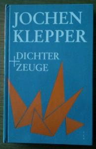 Boek Ilse Jonas over Jochen Klepper